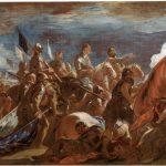 Rendición del ejército francés en la Batalla de San Quintín, por Luca Giordano (1692-1693) ©Museo Nacional del Prado