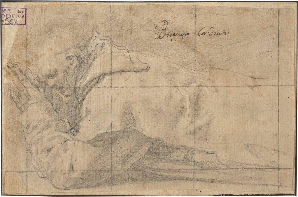 Un fraile cartujo, humillado, obra de Vicente Carducho (1626 - 1632) ©Museo Nacional del Prado