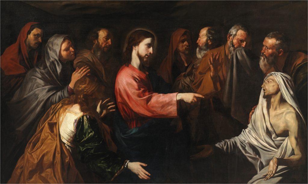 José de Ribera: La resurrección de Lázaro.