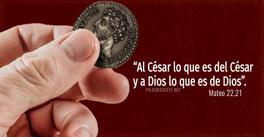 Al César lo que es del César