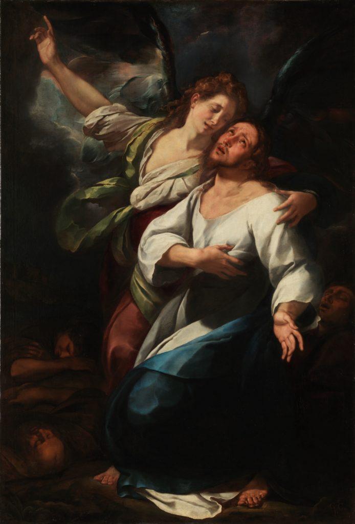 La Oración en el huerto PROCACCINI, GIULIO CESARE, 1616-1620. Museo Nacional del Prado.