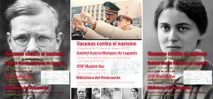 Los premios Vacunas contra el nazismo se entregaron en el CTIF Madrid-Sur.