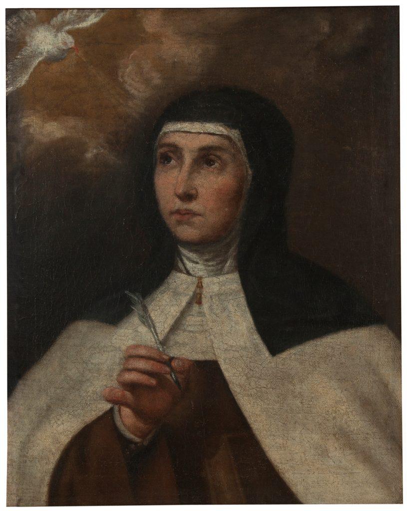 Santa Teresa de Jesús Anónimo del siglo XVII ©Museo Nacional del Prado