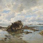 Carlos de Haes: Un barco naufragado ©Museo Nacional del Prado