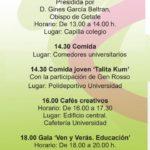 Programa del 7 de marzo.