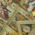 El profeta Daniel en la Capilla Sixtina.